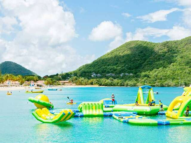WestJet Vacations - Receive free passes to Splash Island Water Park!