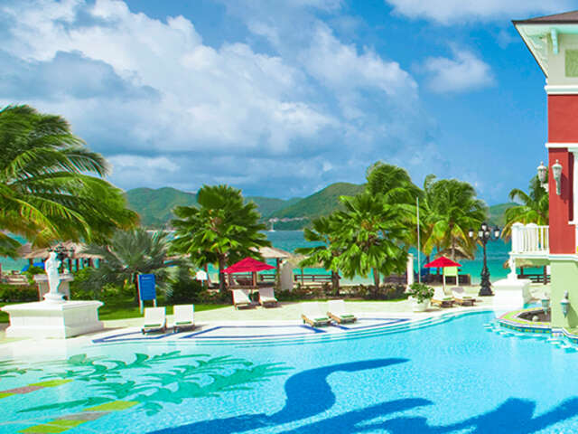 Escape Winter with Sandals Resorts