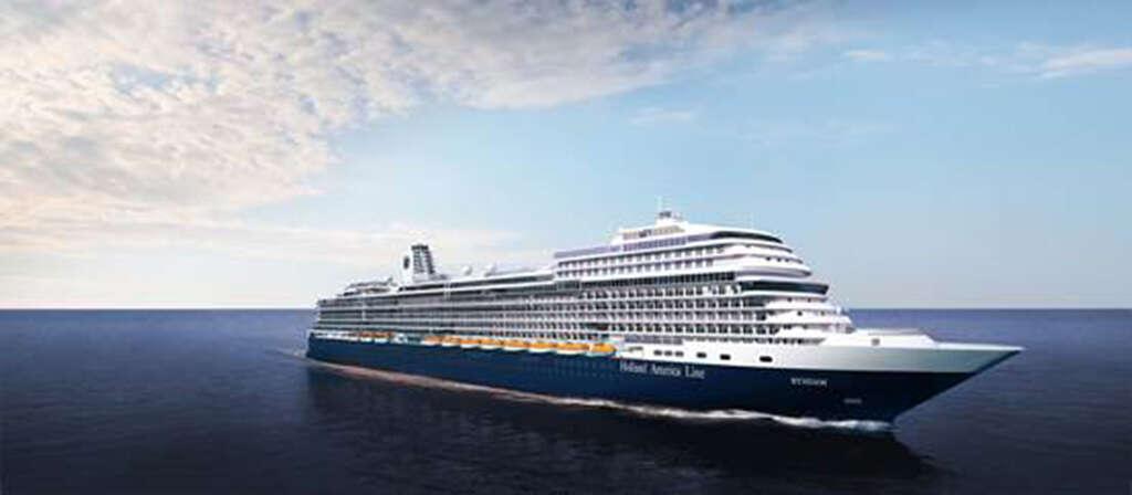 Holland America Line to Call Next Pinnacle Class ShipRyndam
