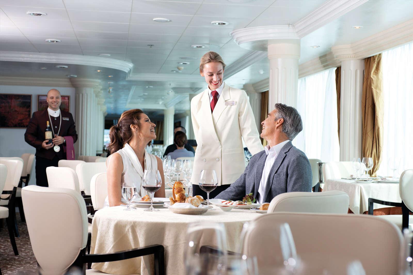 Oceania Cruises - Free pre-paid gratuities!