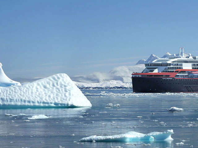 Hurtigruten: Antarctica Free Flight Offer
