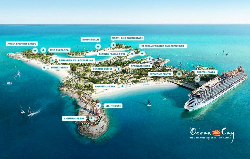 MSC Cruises Prepares for Grand Opening of Ocean Cay MSC Marine Reserve