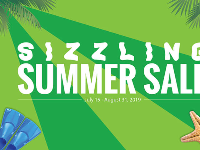 The Sizzling Summer Sale Travel Sale is On!
