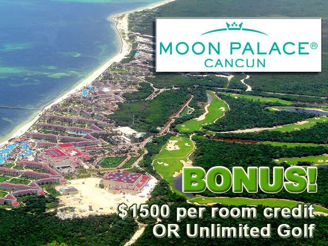 Moon Palace Vacation in Mexico!