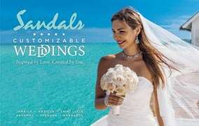 Sandals Digital Wedding Planning Tool