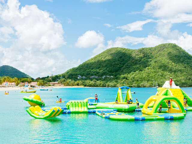 WestJet Vacations - Receive free passes to Splash Island Water Park