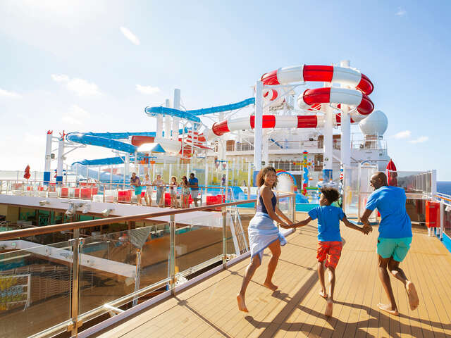 Carnival - Early saver rates plus 50% reduced deposits!