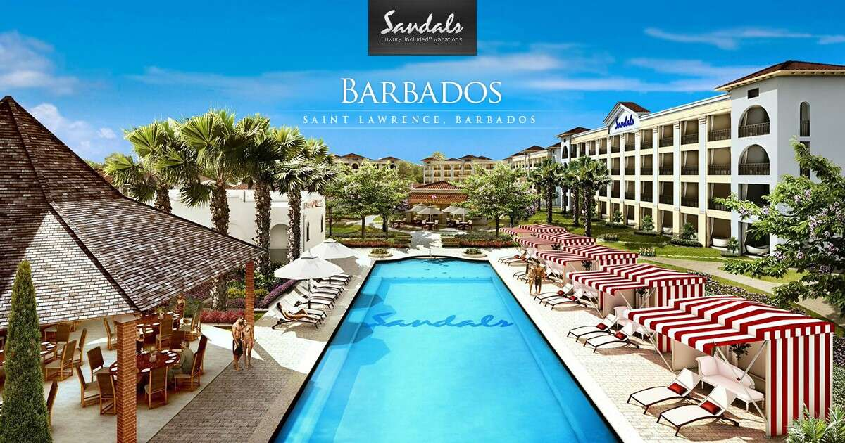Absolutely Fantastic!! SANDALS Barbados Honeymoon