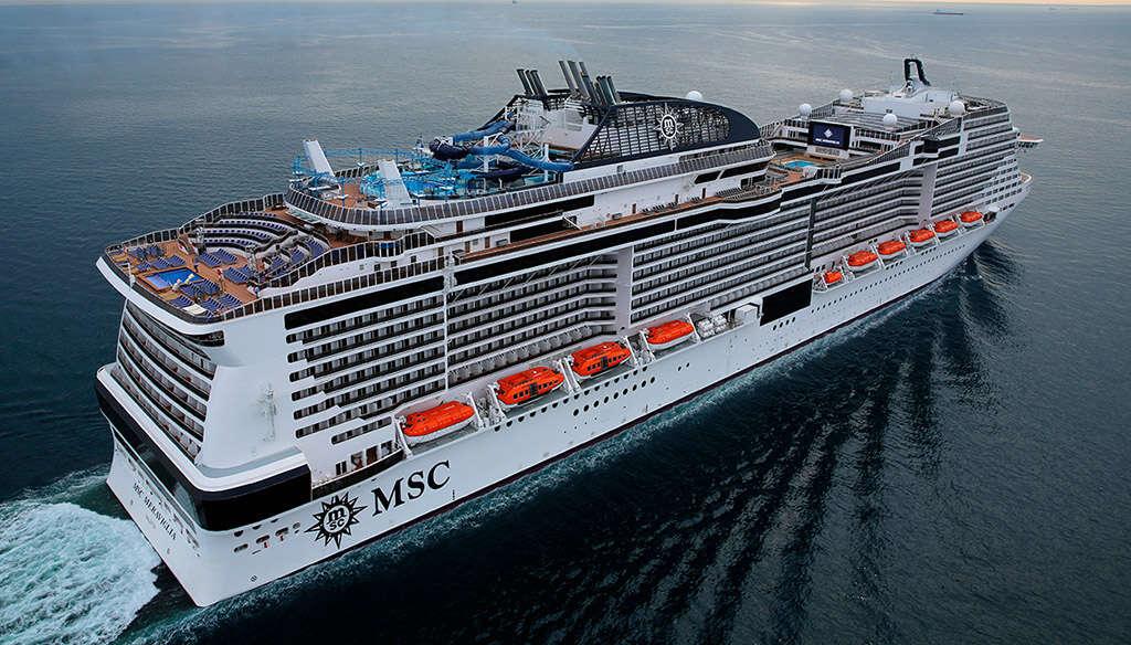 MSC Meraviglia Makes Her Inaugural Visit to Miami, Her New Homeport