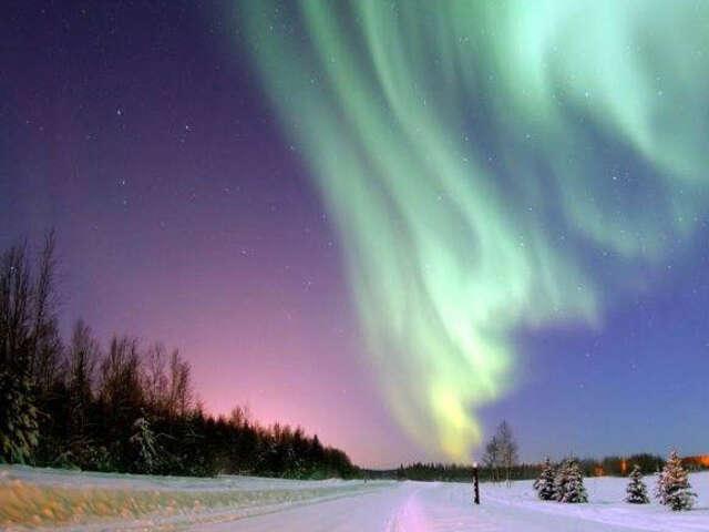 黃刀冬季魔幻極光4日遊