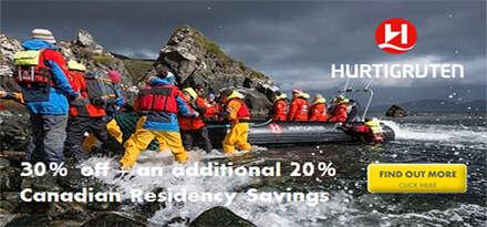 Hurtigruten Canadian Resident Special