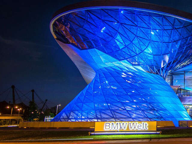 Immerse into the cosmos of car manufacturer BMW
