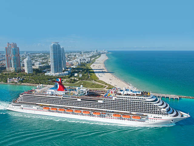 Carnival Cruise Line  - Early Bird gets the funl! Book today & recieve up to $50 USD to Spend Onboard!