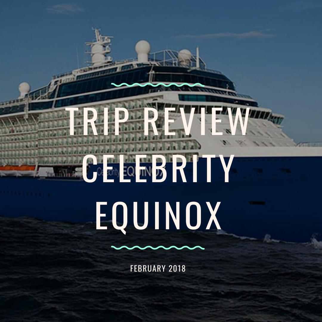 Cruising on Celebrity Equinox