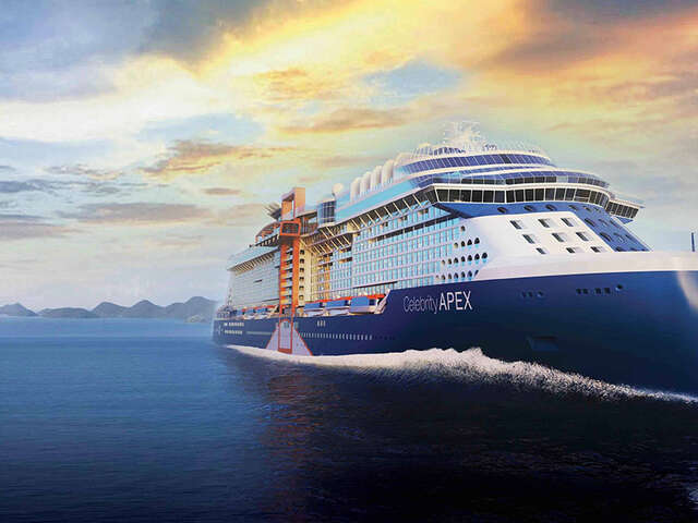 Celebrity Cruises Takes Virtual Delivery of Celebrity Apex