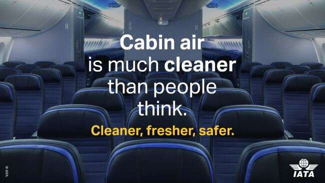 Air in the aircraft cabin is much cleaner than many travelers are aware. Here are 3 key reasons why