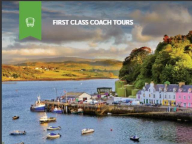 Tour of Scotland & Ireland Sept 9 - 24, 2021