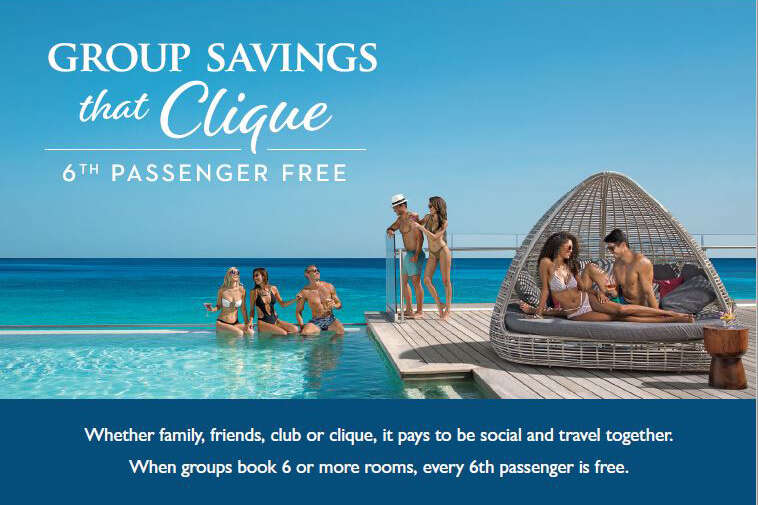 Group Savings That Clique With AMResorts