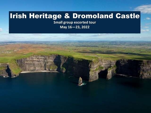 Ireland - LXR small group escorted tour May 2022