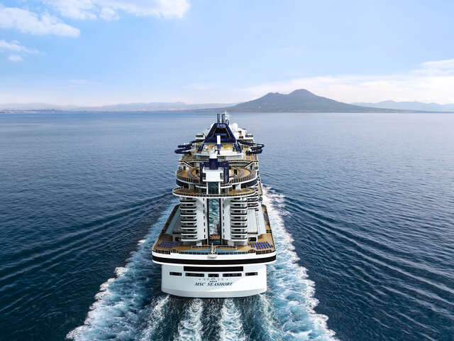 Four Month Countdown to the Launch of MSC Seashore