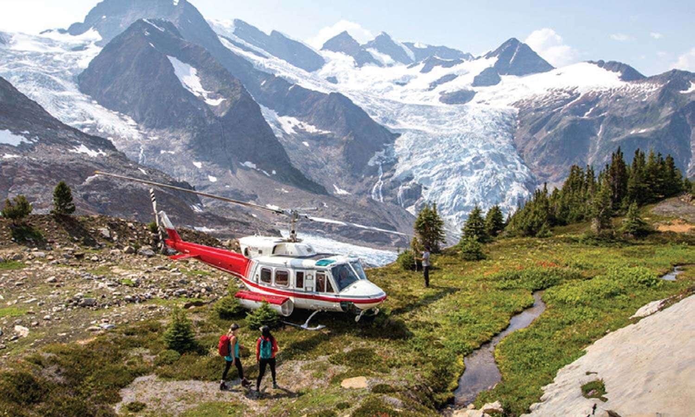 Heli-Hiking Adventure in Western Canada