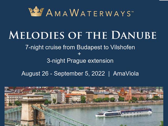 11 days Danube + Prague | AUG 2022