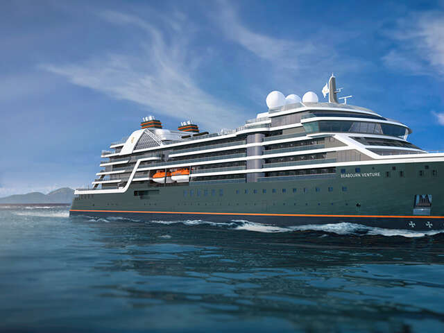 """New Seabourn Venture """"Extraordinary Expedition"""" Itineraries Offer Unforgettable Trips to Antarctica, Amazon"""