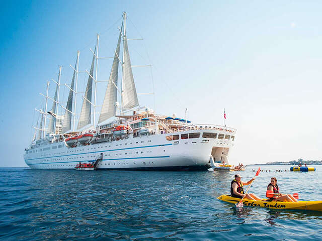 Windstar Cruises' Flagship Wind Surf Resumes Operations in the Mediterranean