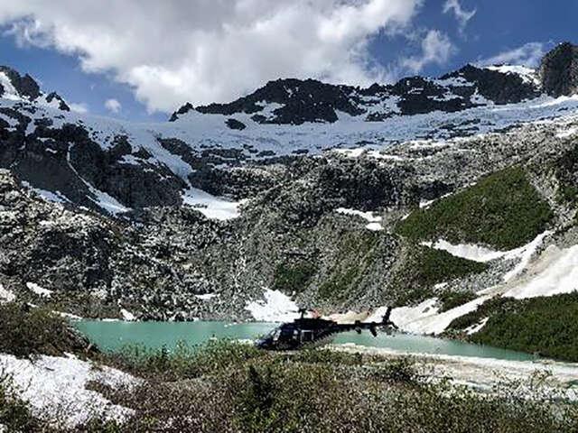 Serratus Glacier & Helicopter Adventure