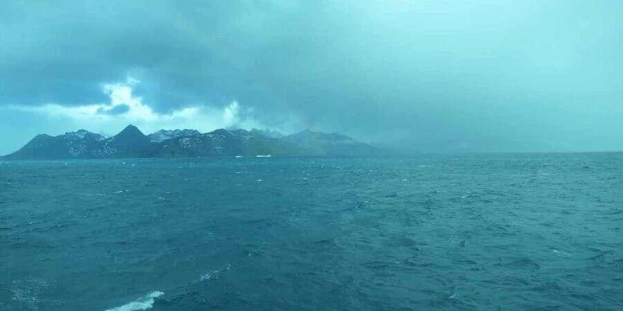 The South Atlantic Ocean - At sea