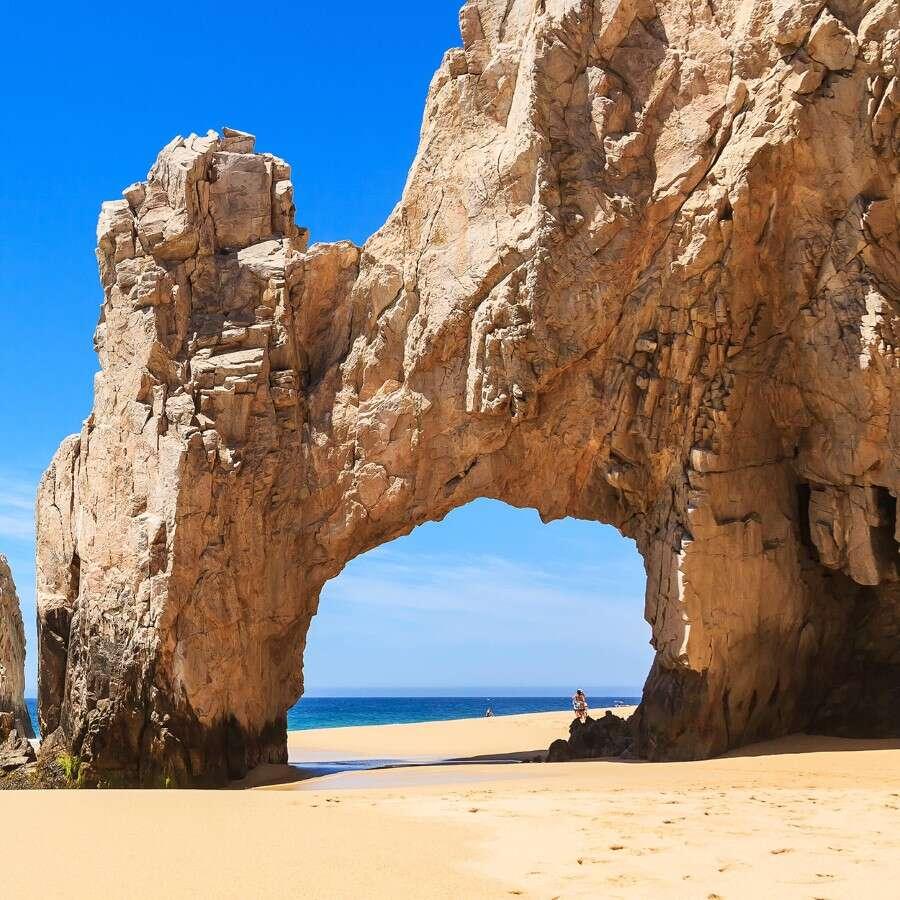 Land's End in Baja California  - Cabo San Lucas, Mexico