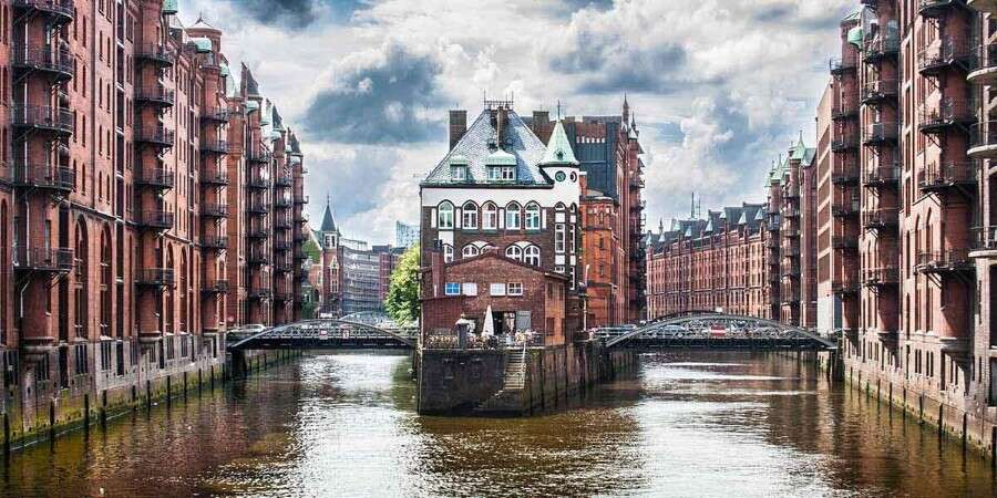 Canals and Gardens  - Hamburg, Germany - Embarkation