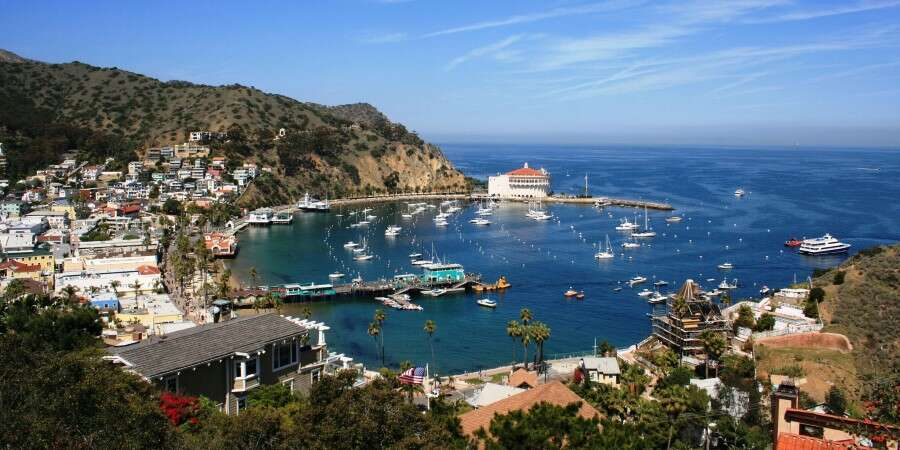 Southern California's Island Escape - Avalon, Santa Catalina Island, USA