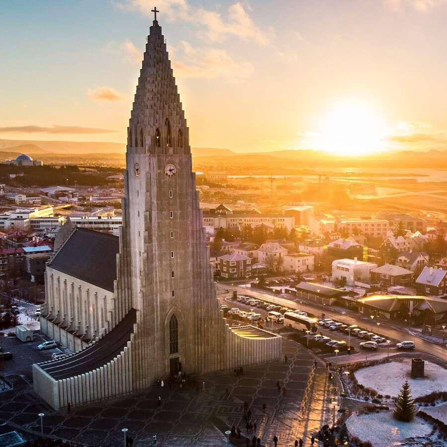 Cosmopolitan capital - Reykjavík, Iceland