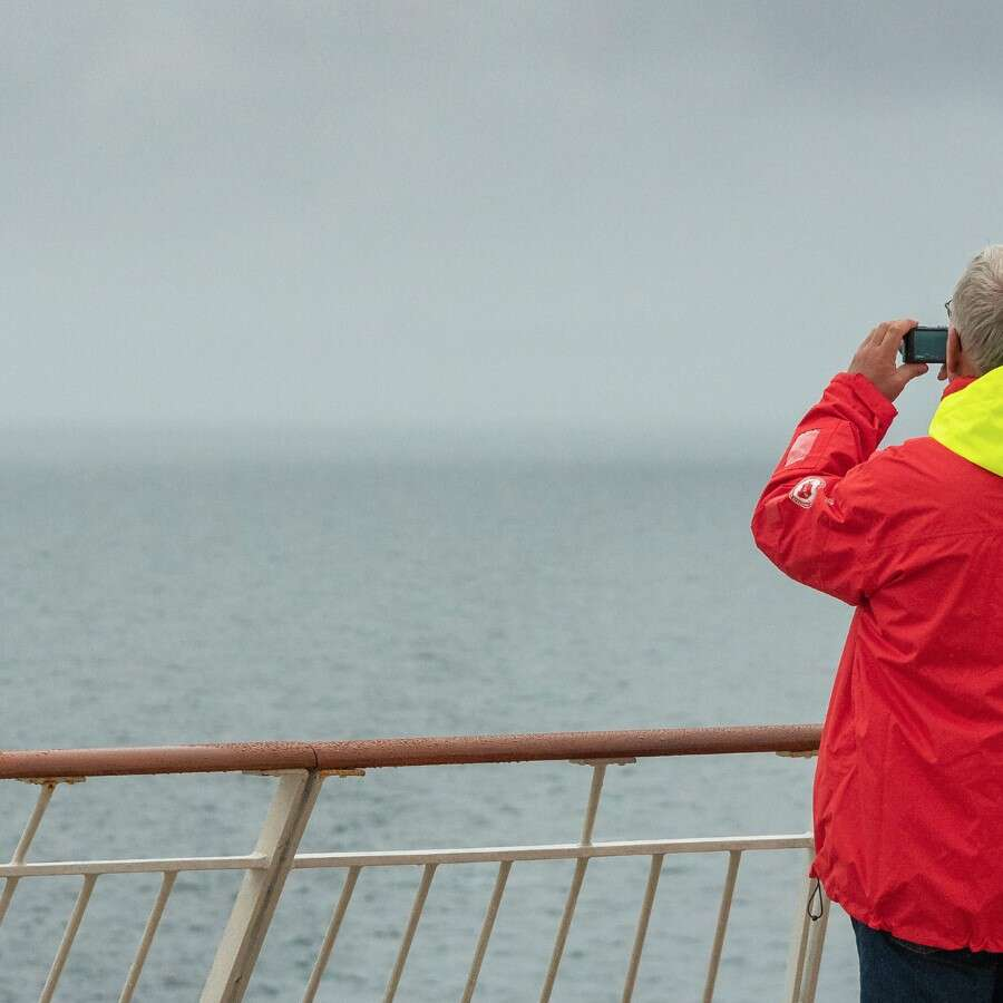 Northbound to the fjords of Norway - At Sea