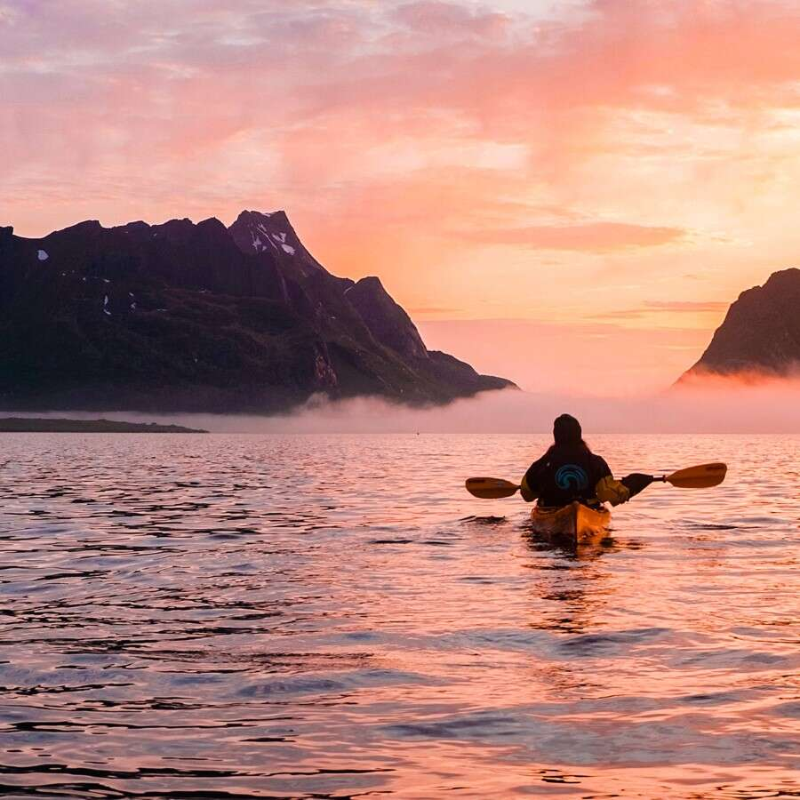 Idyllic island life  - Reine, Norway