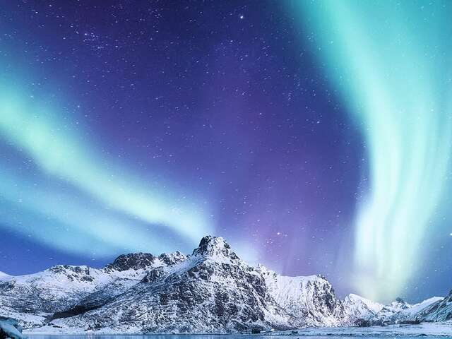 The ultimate winter expedition cruise of fjords and the Northern Lights