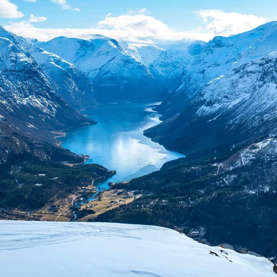 From the fjord to the mountaintop - Loen, Norway