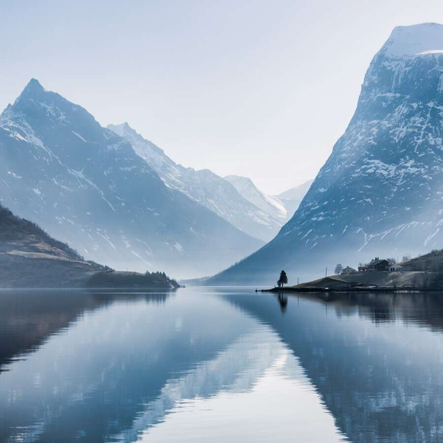 Exceptional natural beauty  - Hjørundfjord, Norway