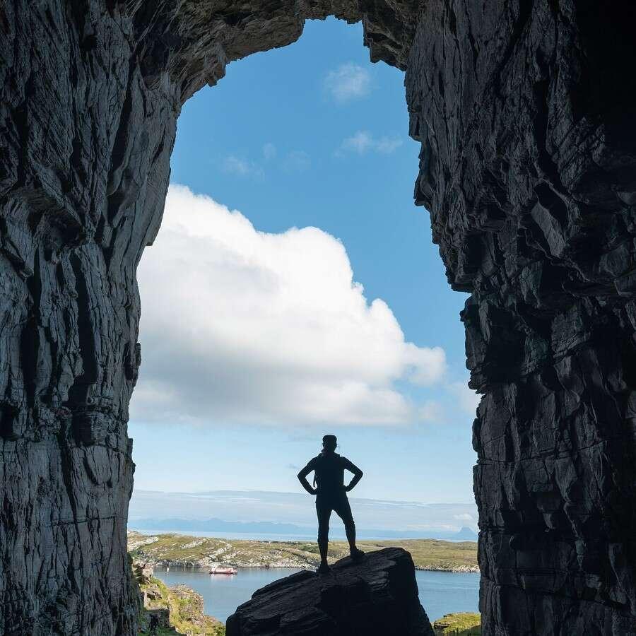 'Friluftsliv' in a little Hawaii - Træna, Norway
