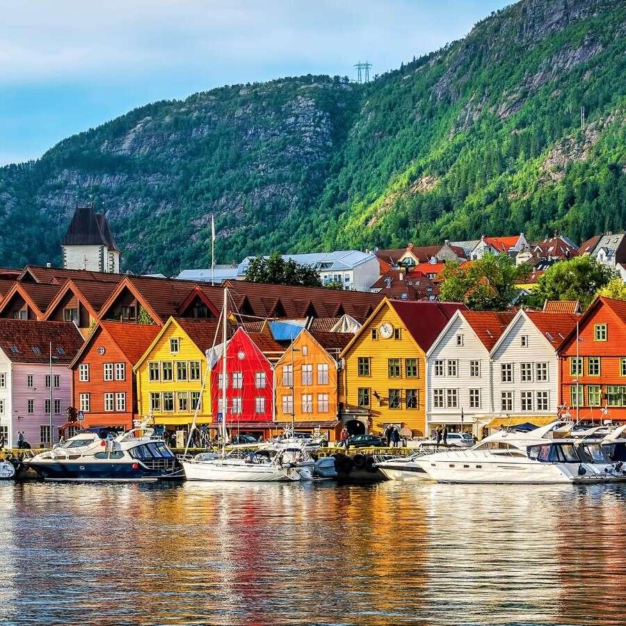 Historic coastal capital - Bergen, Norway