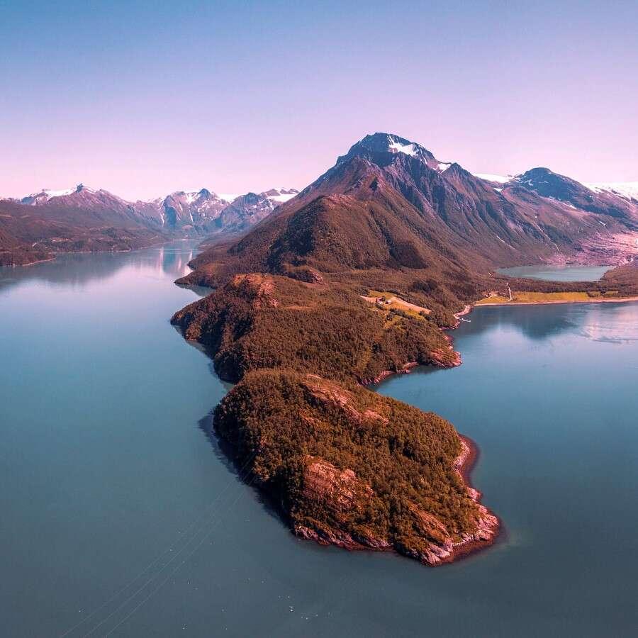 'Black ice' - Svartisen, Helgeland, Norway