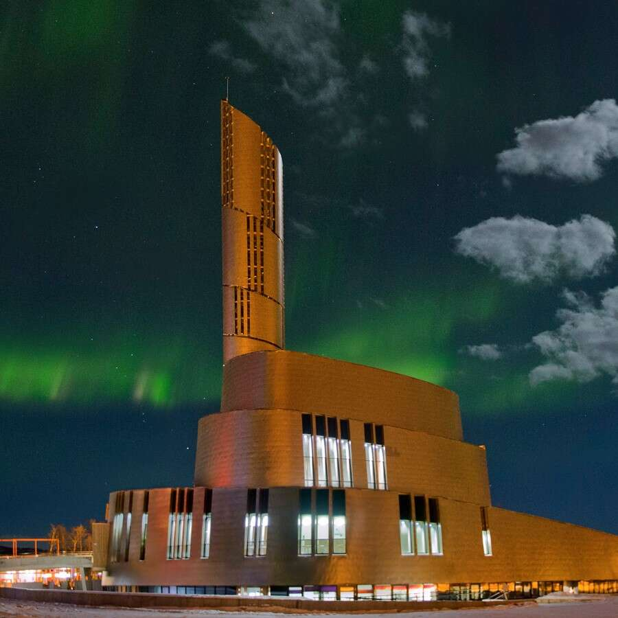 The City of the Northern Lights   - Alta, 70° North