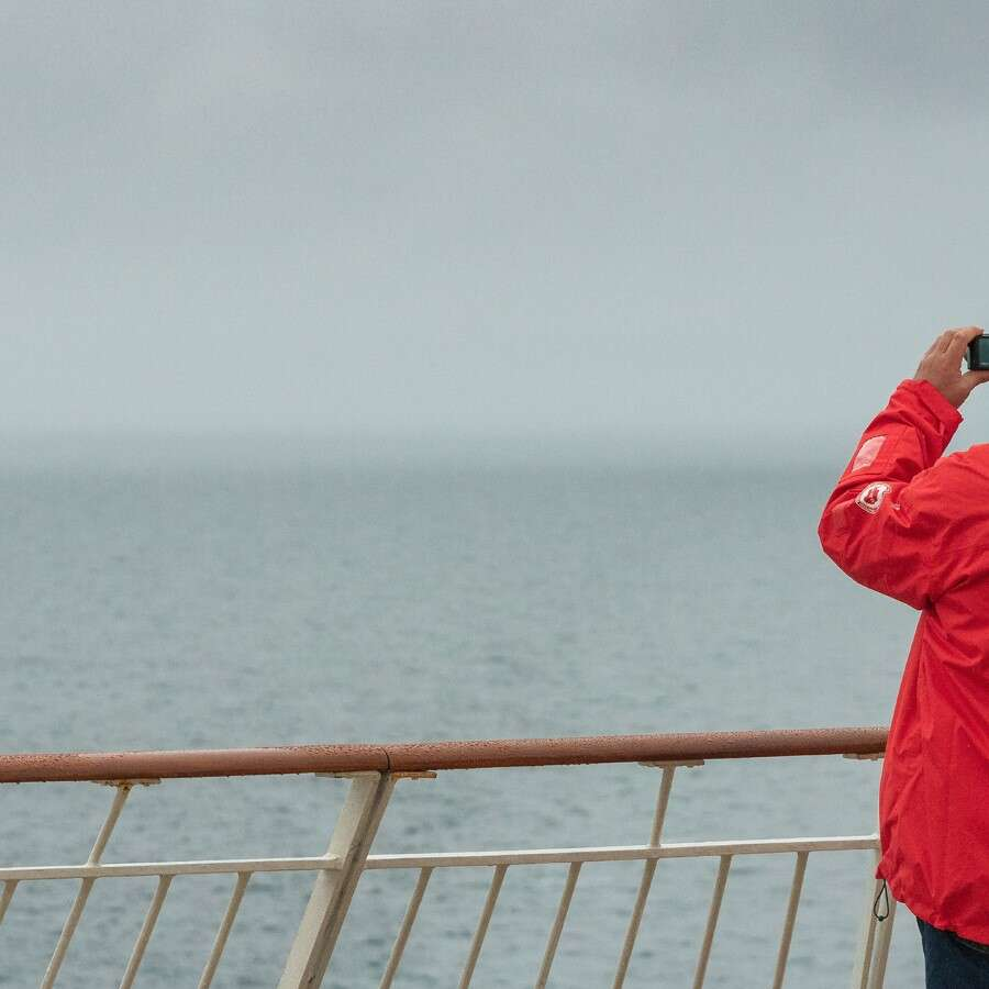 Norway bound - At sea