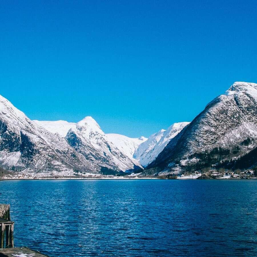 The longest fjord in Norway  - Outside Fjærland