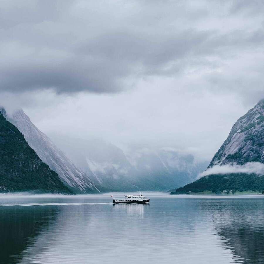 'Queen of the Fjords'  - Rosendal or Sundal