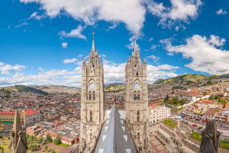 UNESCO Site and Ancient History - Quito