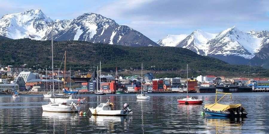 Tierra del Fuego - Santiago / Ushuaia