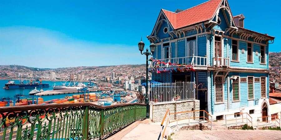 Pacific Jewel - Valparaíso, Chile
