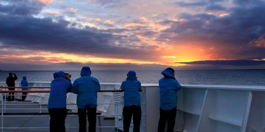 Towards Antarctica - At Sea